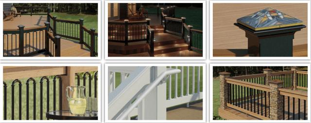 Deck Railing Ideas Install Post Caps Balusters Lights And More Decking Railing Tips Blog Deckorators