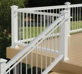When Do You Need To Install A Graspable Secondary Handrail On A   Installing Deck Stair Railing   Porch   Composite Decking   Stair Treads   Baluster   Railing Kit