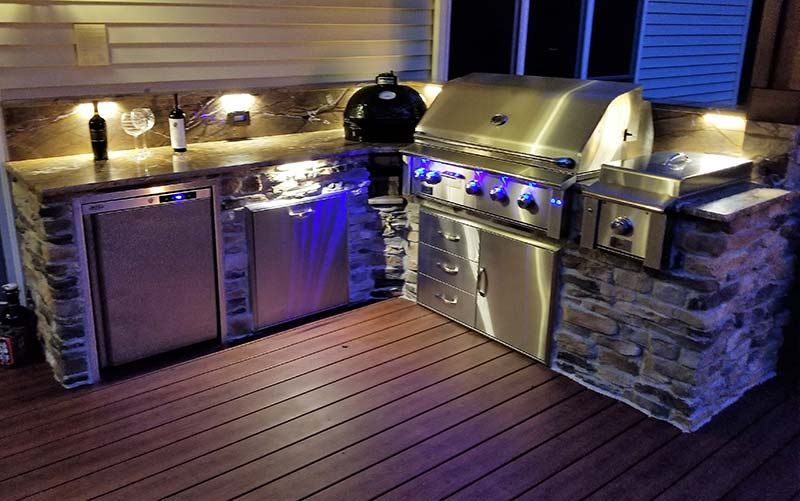 outdoor kitchens kitchen mats amazon photos custom big green egg home gallery