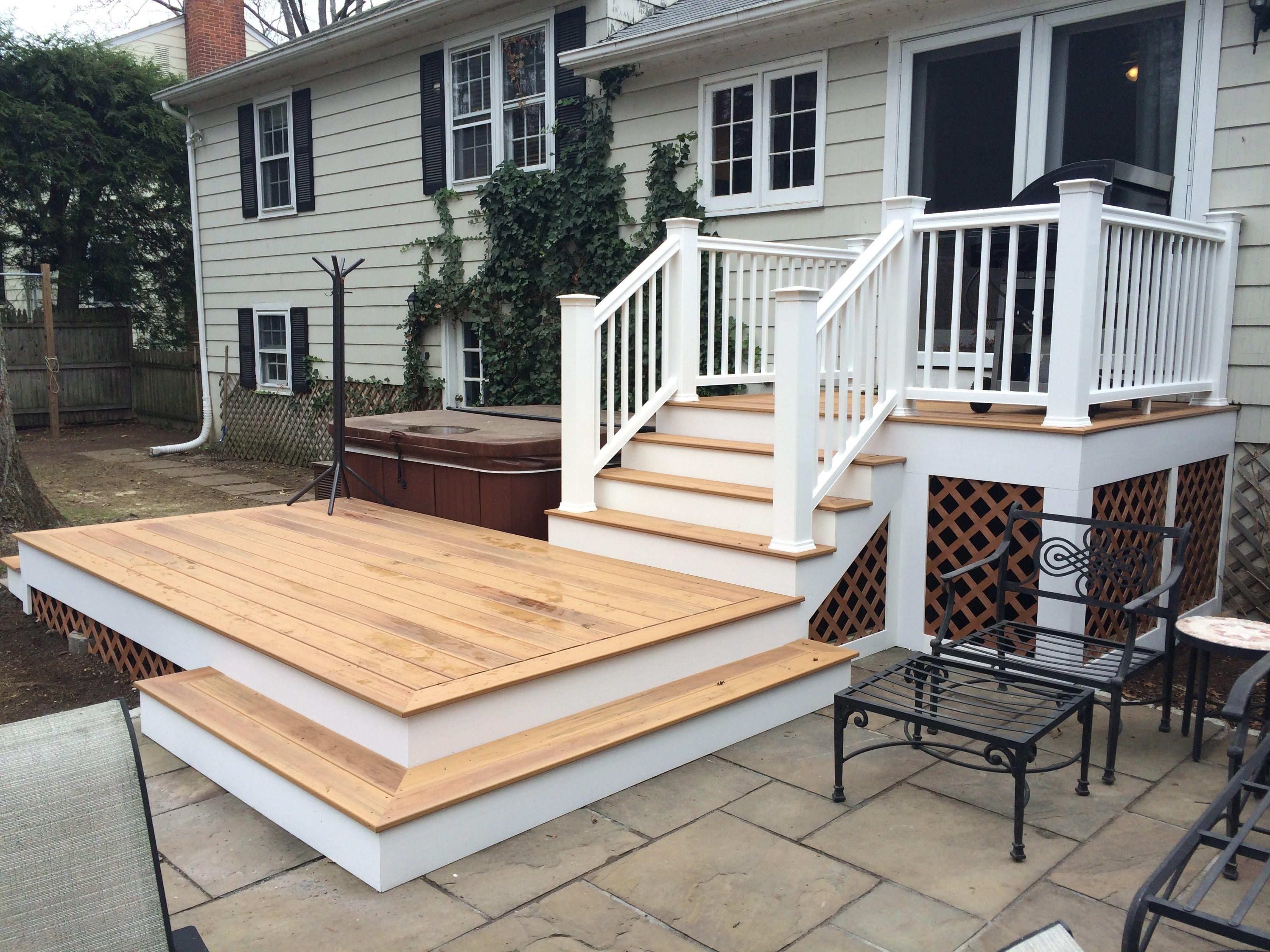 deck patio combo picture 3835 decks com