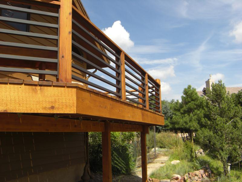 Deck Railings  Colorado Springs  Decks By Schmillen