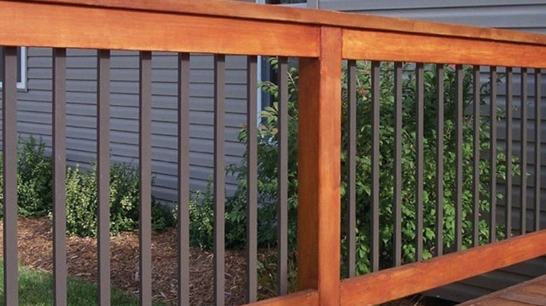 Deck Balusters Spindles Deck Railings Decksdirect | New Banister And Spindles | Stair Treads | Iron Stair | Oak Banister | Iron Balusters | Floating Stairs