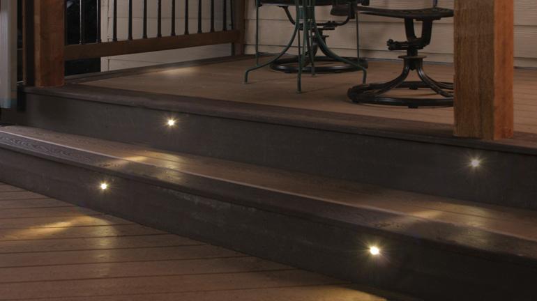 recessed deck stair lighting decksdirect