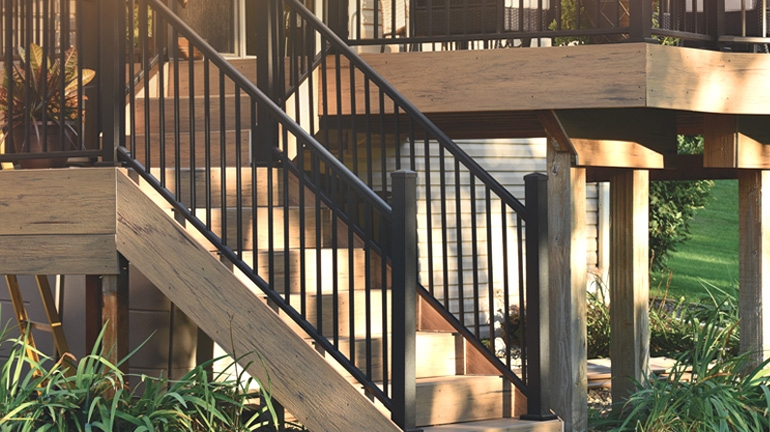 Metal Stair Railing Outdoor Porch Railing Decksdirect | Steel Handrails For Outdoor Steps | Tubular Steel | Steel Handrail Style Kerala Staircase | Stainless | Commercial | Residential