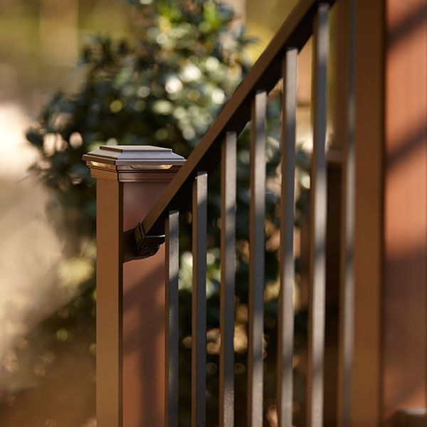 Signature Stair Rail Baluster Kit By Trex Decksdirect | Stair Railing And Balusters | Brushed Nickel | Free Standing | Inexpensive | Deck | Wood