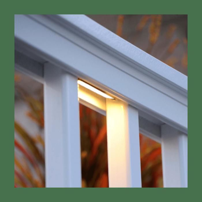 timbertech under rail led light