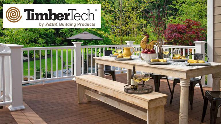 timbertech railing cap stock