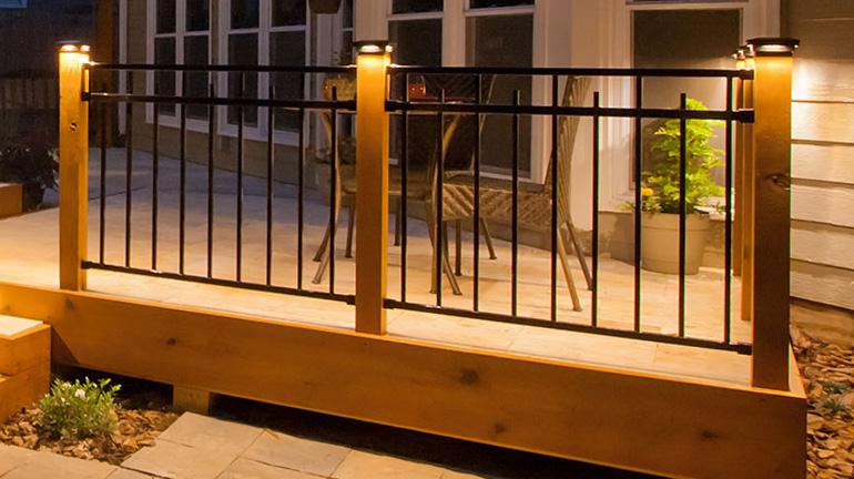 low voltage post cap lighting decksdirect
