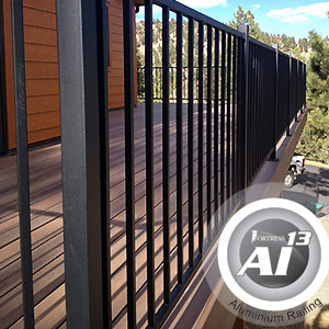 News Amp Updates Fortress Al13 Aluminum Railing Now In
