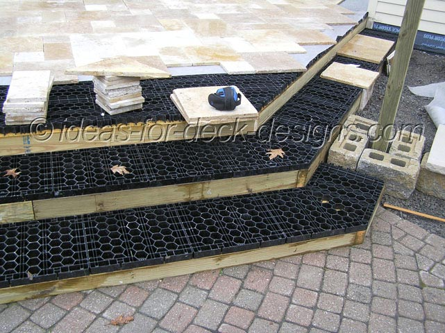 Deck Stone Stair Paver