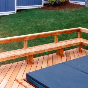 building benches for your deck you