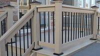 Deck Railing Post Anchors | Install Posts to Deck Without ...