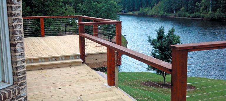 Deck Cable Railing