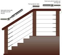 WiseRail Deck Cable Railing Kits | Stainless Steel Deck ...