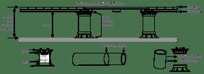 Altitudes Pedestal®   Adjustable ScrewJack Deck Tile System