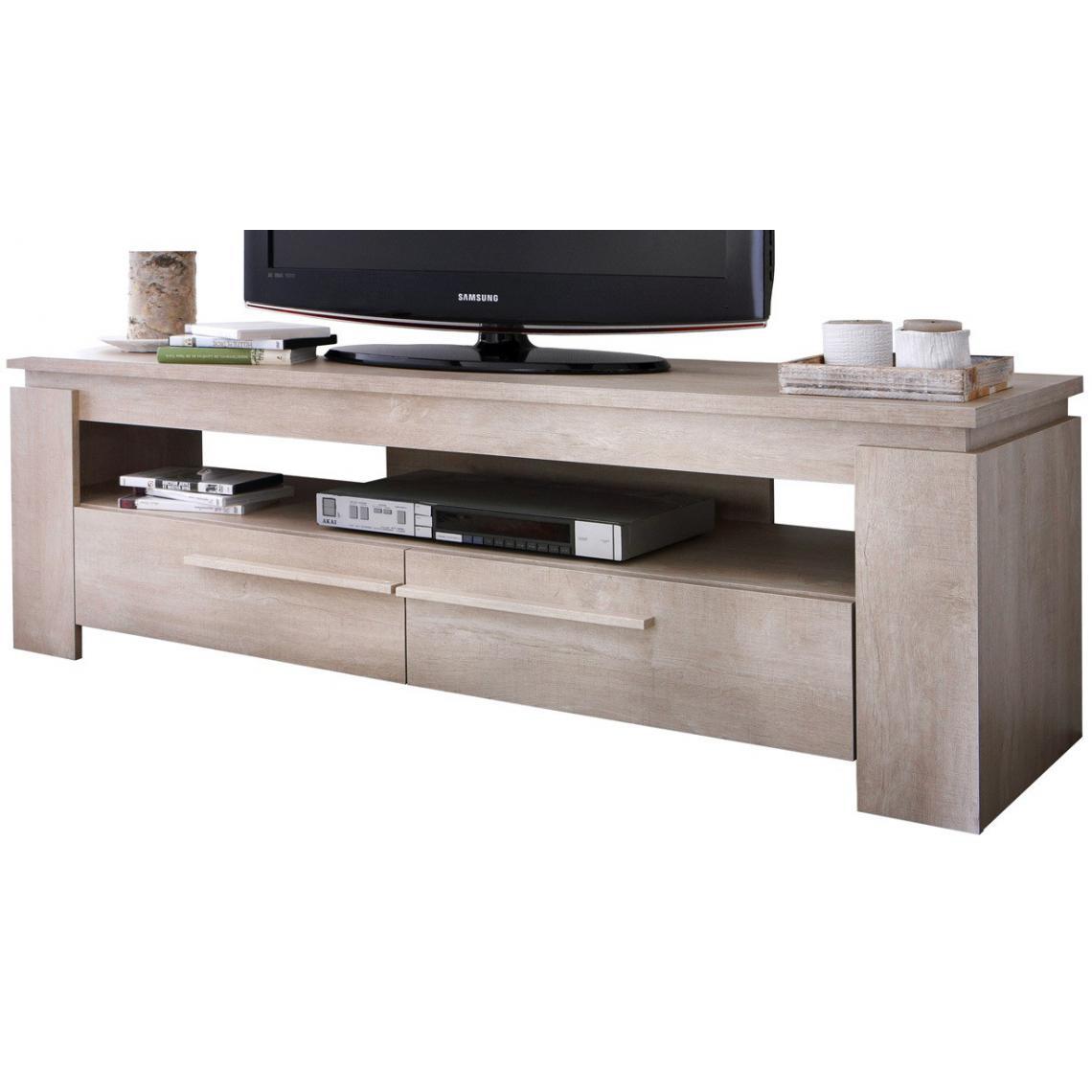 meuble tv chene clair anton