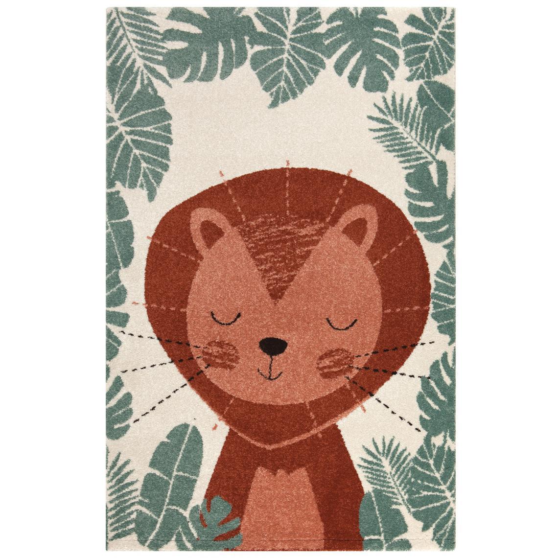 tapis enfant lion 150x100cm akiko