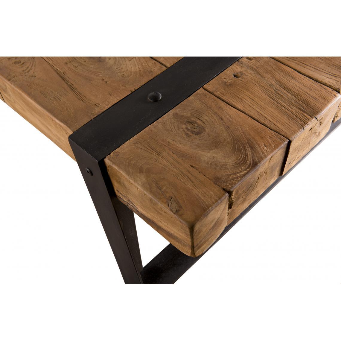 table basse rectangulaire bois de teck