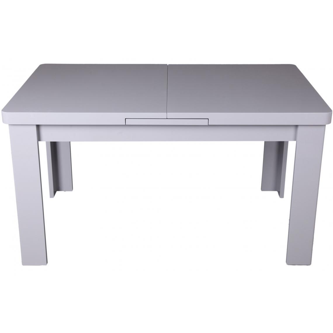 table a manger extensible grise minerve