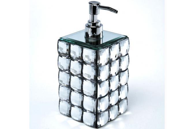 Set accessoires salle de bain Diamond  Salle de bain Pas Cher