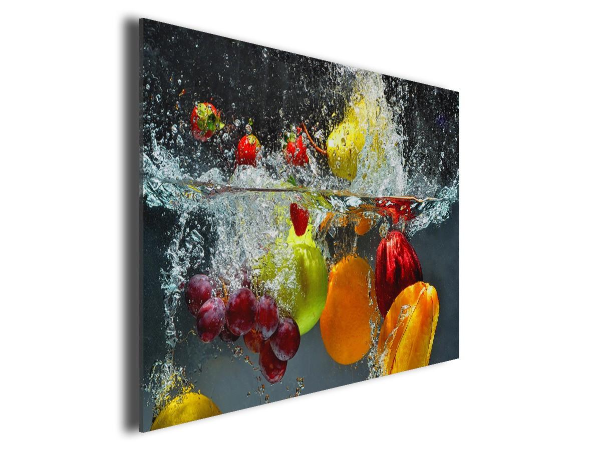 Tableau cuisine fruits en toile imprime pas cher