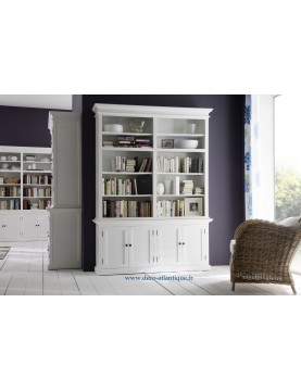 Bibliothquegrandelargeuracajou Blanc