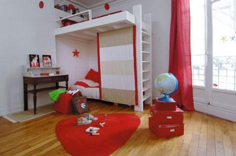 10 idees deco pour une chambre rouge