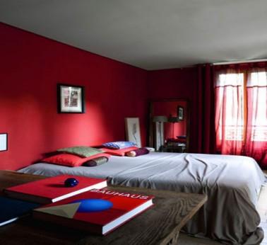 10 ides dco pour une chambre rouge  DecoCool