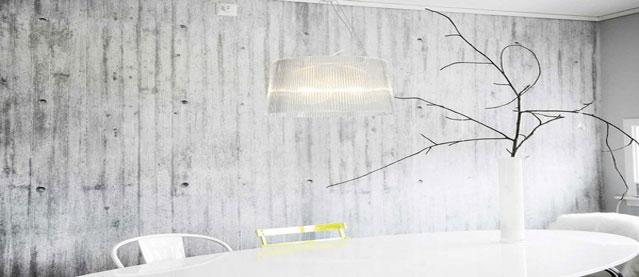 le papier peint effet beton c est