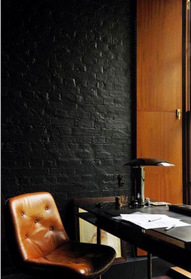 La Couleur Noir Dans La Dco Du Salon La Chambre La Cuisine