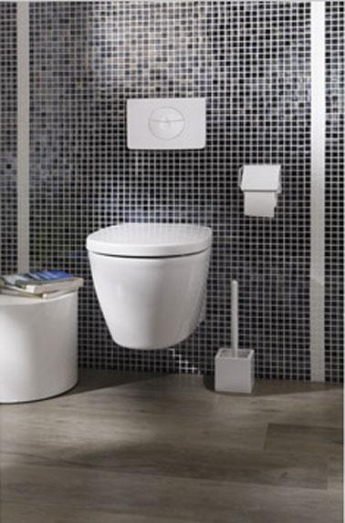 deco wc design avec cuvette wc suspendu