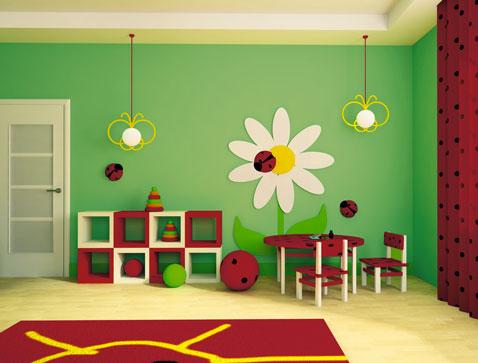 25 Couleurs de Chambre Enfant avec une Peinture Bio  DcoCool