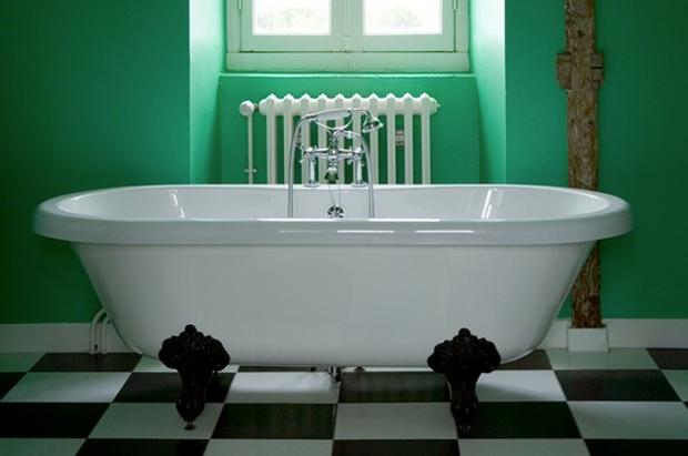 vert une couleur pour une salle de bain