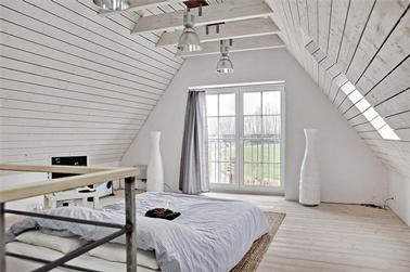 la luminosite d une peinture blanche dans une chambre qui ne manque pas de douceur