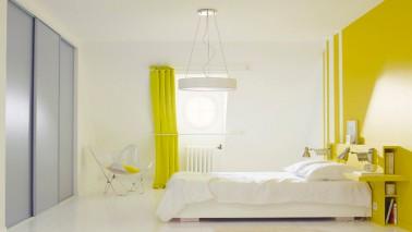 la peinture jaune pour une chambre c