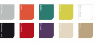 Nuancier GripActiv V33 peinture pour meuble cuisine 10 couleurs