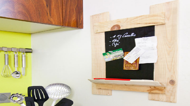 Fabriquer Un Tableau Ardoise avec une cagette bois  DcoCoolcom