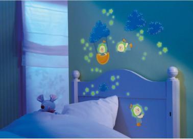 Stickers Chambre Enfant Pour R 234 Ver Jour Et Nuit D 233 Co Cool