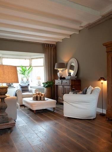 Salon Cosy Chaleureux - Décoration de maison idées de design d ...