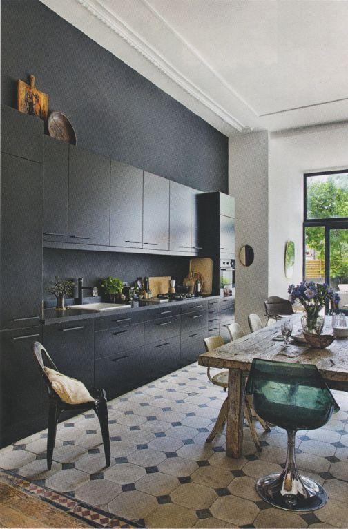 La cuisine noire on adore son look  DecoCool