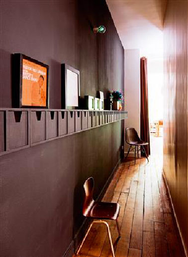 Dco couloir  Peinture et couleur des ides damnagement