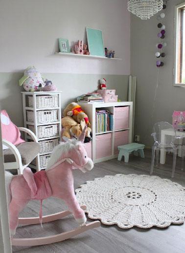 Chambre Fille Parme Et Blanc - Décoration de maison idées de design ...