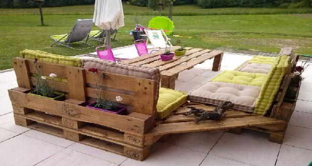 Quel entretien pour un salon de jardin en palette