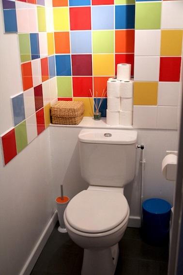 WC dco ide couleurs pour le carrelage