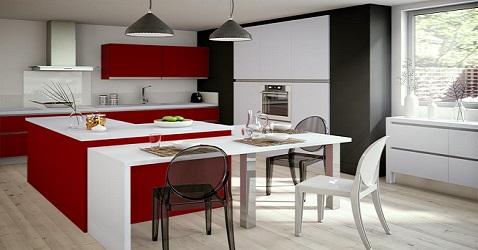 12 Inspirations Dco Pour Une Cuisine Rouge Deco Cool