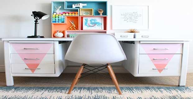 DIY Dco Repeindre Un Vieux Bureau En Mtal Deco Cool