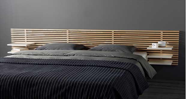 une tete de lit originale