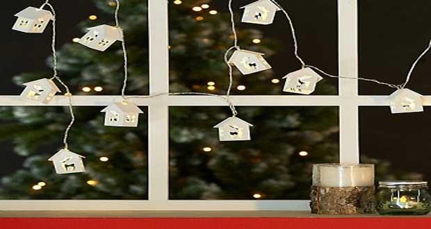 Dco Nol  10 Guirlandes lumineuses pour illuminer sa maison