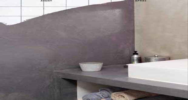 béton ciré plan de travail cuisine castorama