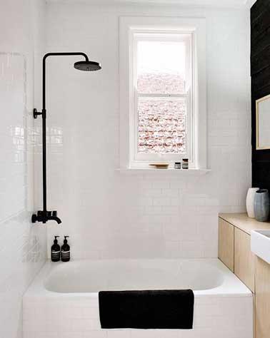 quelle couleur pour une petite salle de bain